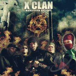 X Clan - Mainstream Outlaw CD Cover Art