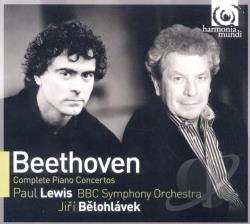 BBC SO / Beethoven / Belohlavek / Lewis - Beethoven: Complete Piano Concertos CD Cover Art