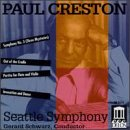 Creston, Paul - Creston: Symphony No.3; Partita For Flute, Violin & Stings, Op. 12; Out Of The Cradle; Invocation & Dance, Op. 58 CD Cover Art