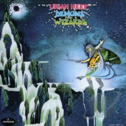 Uriah Heep - Demons and Wizards CD Cover Art