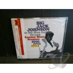 Johnson, Big Jack - Rooster Blues Sessions CD Cover Art