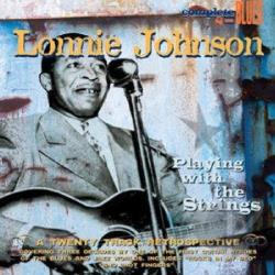 Johnson, Lonnie - Playing with the Strings CD Cover Art