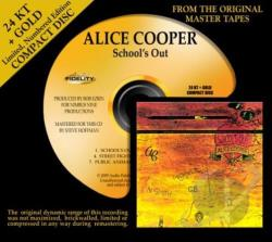 Cooper, Alice - School's Out CD Cover Art