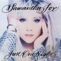 Fox, Samantha - Just One Night CD Cover Art