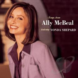 Shepard, Vonda - Songs from Ally McBeal CD Cover Art