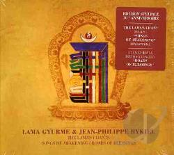 Gyurme, Lama / Rykiel, Jean-Philippe - Lama's Chant: Songs of Awakening/Roads of Blessings CD Cover Art