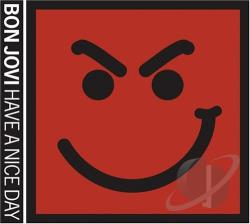 Bon Jovi - Have a Nice Day CD Cover Art