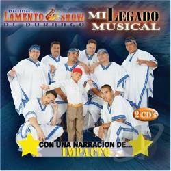 Banda Lamento Show - Mi Legado Musical CD Cover Art