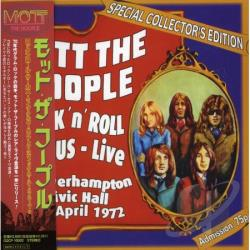 Mott The Hoople - Rock'N'Roll Circus-Live Wolverhampt CD Cover Art