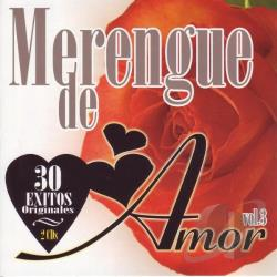Merengue de Amor, Vol. 3 CD Cover Art