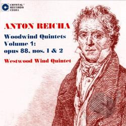 Reicha / Westwood Wind Quintet - Anton Reicha: Woodwind Quintets, Vol. 1 CD Cover Art