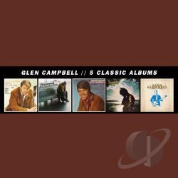 Campbell, Glen - 5 Classic Albums CD Cover Art
