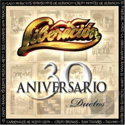 Liberacion - 30 Aniversario Duetos CD Cover Art