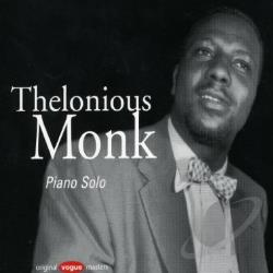 Monk, Thelonious - Piano Solo CD Cover Art