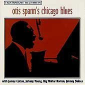 Spann, Otis - Otis Spann's Chicago Blues CD Cover Art