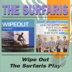 Surfaris - Wipe Out/The Surfaris Play CD Cover Art