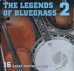 Legends of Bluegrass, Vol. 2 CD Cover Art