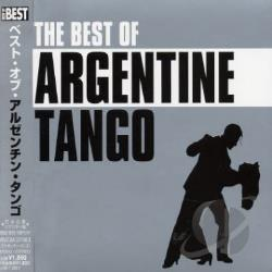 Best Of Argentine Tango CD Cover Art
