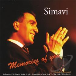 Simavi - Memories Of You CD Cover Art