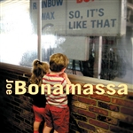 Bonamassa, Joe - So, It's Like That CD Cover Art