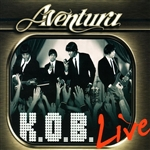 Aventura - K.O.B. Live CD Cover Art