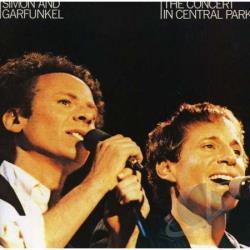 Simon & Garfunkel - Concert In Central Park CD Cover Art