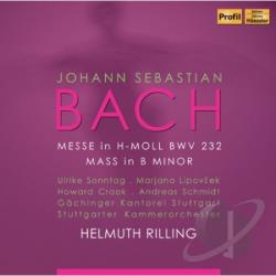 Bach, Johann Sebastian / Crook / Lipovsek / Schmidt / Sonntag - Bach: Mass in B minor, BWV 232 CD Cover Art