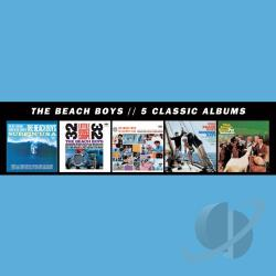 Beach Boys - 5 Classic Albums CD Cover Art