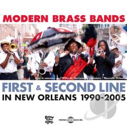 Modern Brass Bands: First & Second Line in New Orleans, 1990 - 2005 CD Cover Art