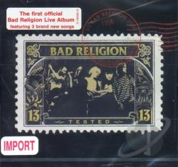 Bad Religion - Tested: Live CD Cover Art