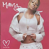 Blige, Mary J. - Love & Life (Uk 2) CD Cover Art