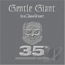 Gentle Giant - In A Glass House CD Cover Art