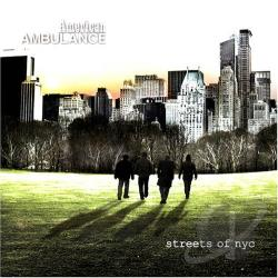 American Ambulance - Streets of NYC CD Cover Art