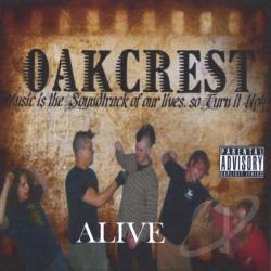 Oakcrest - Alive CD Cover Art