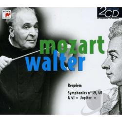 Walter, Bruno - Requiem-Symphonies No 39 40 & 41 CD Cover Art