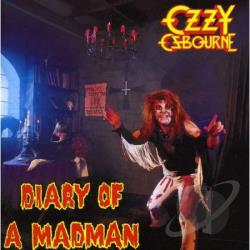 Osbourne, Ozzy - Diary of a Madman CD Cover Art