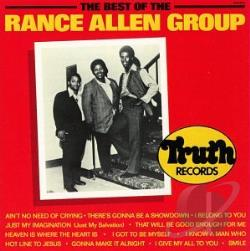 Rance Allen Group - Best of the Rance Allen Group CD Cover Art
