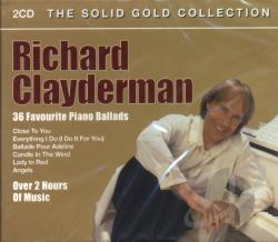 Clayderman, Richard - 36 Favourite Piano Ballads CD Cover Art
