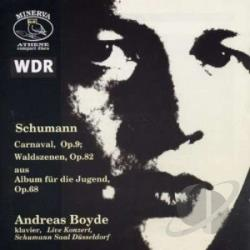Boyde, Andreas / Schumann - Carnaval CD Cover Art