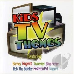 Pre-Teens - Kids Television Themes CD Cover Art