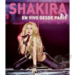 Shakira - En Vivo Desde Paris CD Cover Art