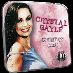 Gayle, Crystal - Country Cool CD Cover Art
