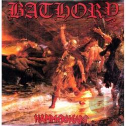 Bathory - Hammerheart LP Cover Art