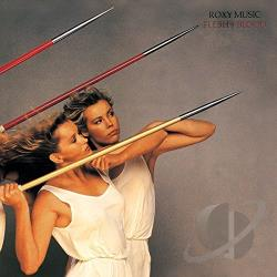Roxy Music - Flesh + Blood CD Cover Art