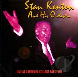 Kenton, Stan - Live At Carthage College Pt. 2 CD Cover Art