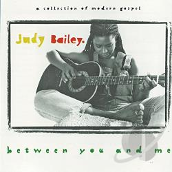 Bailey, Judy - Between You and Me CD Cover Art