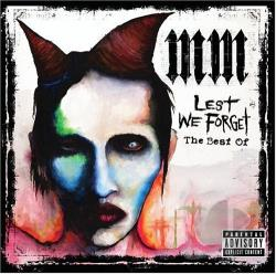 Manson, Marilyn - Lest We Forget: The Best Of CD Cover Art