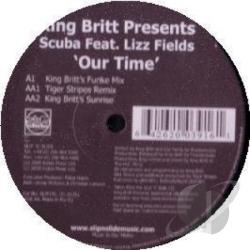 King Britt - Our Time LP Cover Art