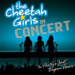 Cheetah Girls - Cheetah Girls - the Party's Just Begun Concert DB Cover Art