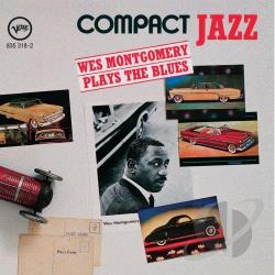 Montgomery, Wes - Compact Jazz - Plays The Blues CD Cover Art